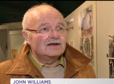 Screen-shot, S4C, John Williams, Ynys Mon, Opening.